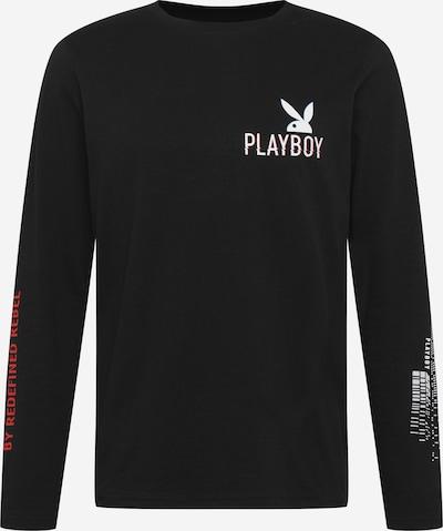 Redefined Rebel T-Shirt 'Goma' en noir / blanc, Vue avec produit