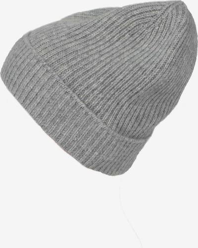 Zwillingsherz Mütze in grau, Produktansicht