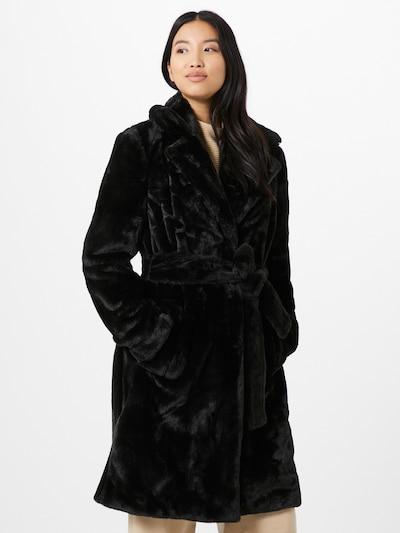 Žieminis paltas iš VILA , spalva - juoda, Modelio vaizdas