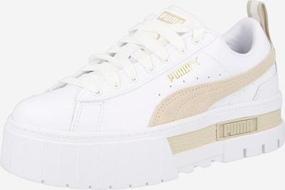 PUMA Sneaker 'Mayze Lth' in weiß, Produktansicht