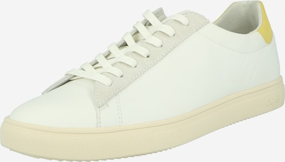 Sneaker bassa 'BRADLEY' CLAE di colore giallo / bianco, Visualizzazione prodotti