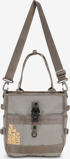 George Gina & Lucy Umhängetasche 'LOW BEAU TOMI' in beige / braun / neonorange, Produktansicht