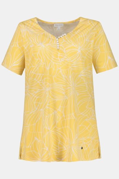 Gina Laura T-Shirt in gelb / mischfarben, Produktansicht