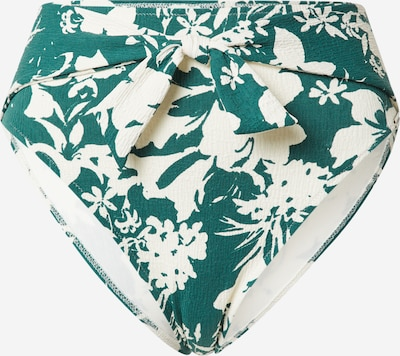 watercult Bikinihose in dunkelgrün / weiß, Produktansicht