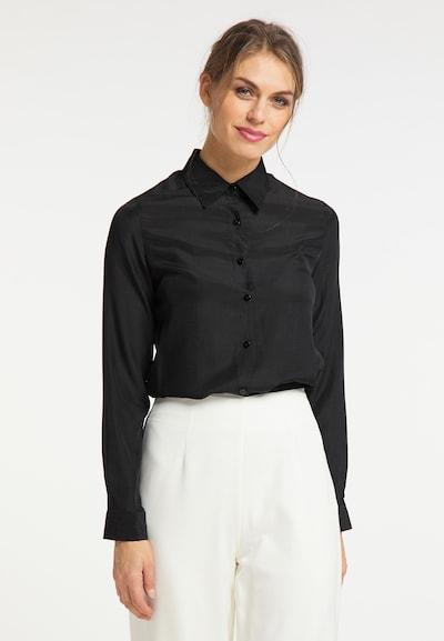 usha BLACK LABEL Bluse in schwarz, Modelansicht