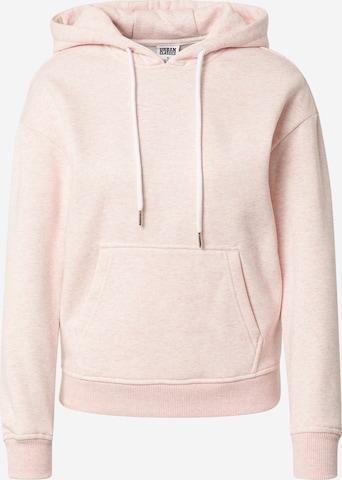 Sweat-shirt Urban Classics en rose