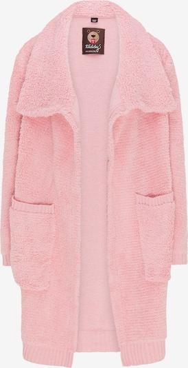 Cappotto in maglia taddy di colore rosa, Visualizzazione prodotti