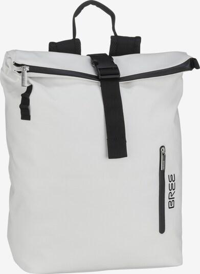 BREE Rugzak in de kleur Zwart / Wit, Productweergave