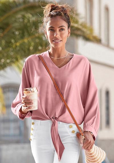 VIVANCE Blouse in Dusky pink, View model