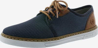 RIEKER Sportovní šněrovací boty - tmavě modrá / hnědá, Produkt