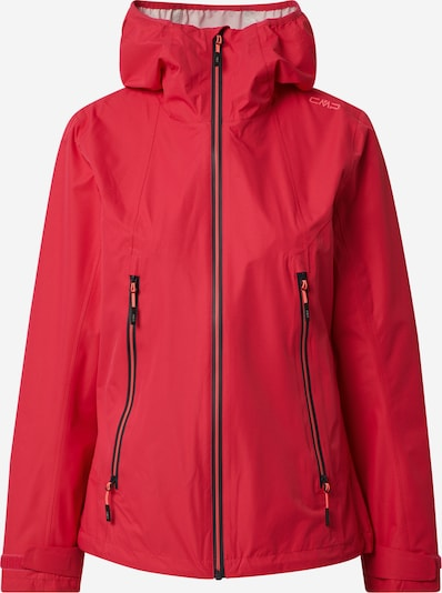 CMP Outdoorjas in de kleur Rood / Zwart, Productweergave