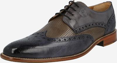 MELVIN & HAMILTON Čevlji na vezalke 'Martin 15' | mornarska / brokat barva, Prikaz izdelka