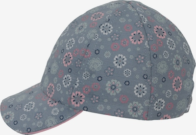 STERNTALER Cap in opal / taubenblau / grau / rosa, Produktansicht