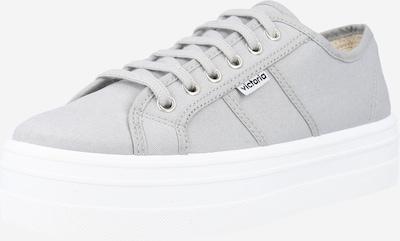 VICTORIA Zapatillas deportivas bajas 'BARCELONA' en gris claro, Vista del producto
