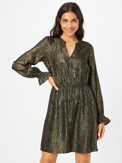 Fabienne Chapot Jurk in de kleur Goud / Zwart, Modelweergave