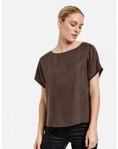 TAIFUN Bluse in braun, Modelansicht