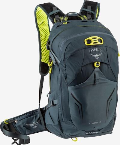 Osprey Sportrucksack 'Syncro 20' in neongelb / dunkelgrau / weiß, Produktansicht