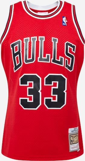 Mitchell & Ness Shirt 'Scottie Pippen' in de kleur Rood / Zwart / Wit, Productweergave