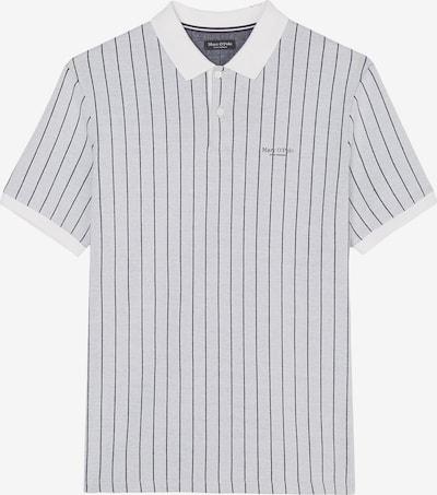 Marc O'Polo Shirt in de kleur Nachtblauw / Lichtgrijs / Wit, Productweergave