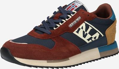 Sneaker low 'VIRTUS' NAPAPIJRI pe bleumarin / maro ruginiu / maro deschis, Vizualizare produs