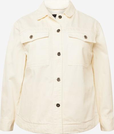 Urban Classics Curvy Jacke in creme, Produktansicht