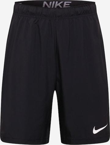 Pantalon de sport 'Flex' NIKE en noir