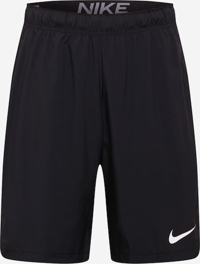 NIKE Pantalón deportivo 'Woven' en negro / blanco, Vista del producto