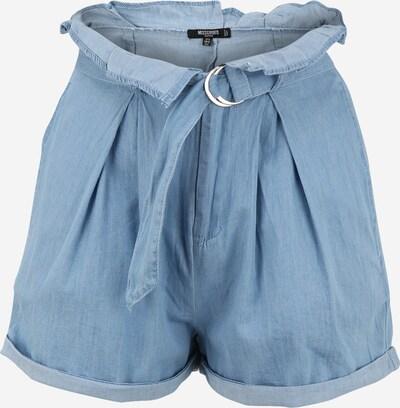 Missguided Petite Shorts in blue denim, Produktansicht