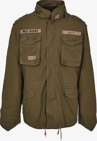 Brandit Jacke 'Giant' in Grün