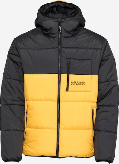 ADIDAS ORIGINALS Veste d'hiver en jaune / noir, Vue avec produit