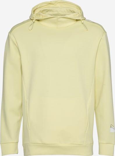 PUMA Športna majica | pastelno rumena / črna / bela barva, Prikaz izdelka