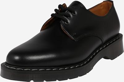 Pantofi cu șireturi Solovair pe negru, Vizualizare produs