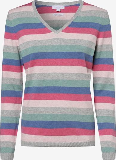 Brookshire Pullover in hellblau / hellgrau / grün / pink, Produktansicht