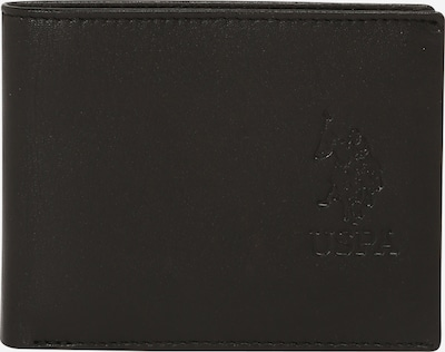 U.S. POLO ASSN. Portemonnee 'Dorchester' in de kleur Zwart, Productweergave