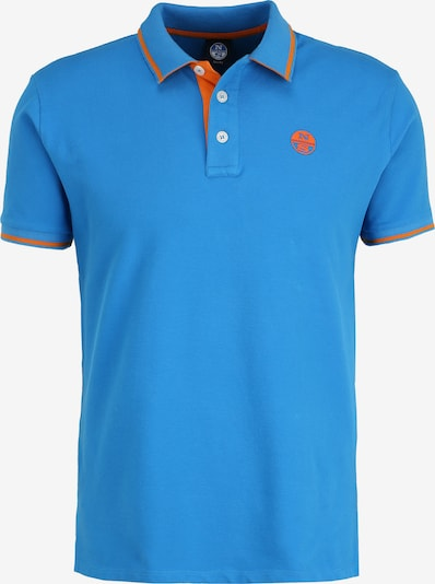 North Sails Poloshirt Polo Shortsleeve in blau, Produktansicht