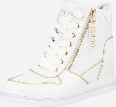 Sneaker low 'NANGY' GUESS pe auriu / alb, Vizualizare produs