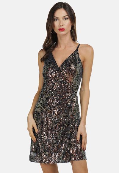 faina Kleid in basaltgrau / mischfarben, Modelansicht