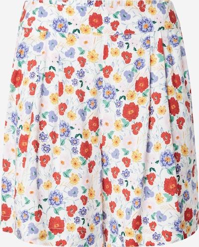 Gina Tricot Панталон с набор 'Farah' в пъстро / бяло: Изглед отпред