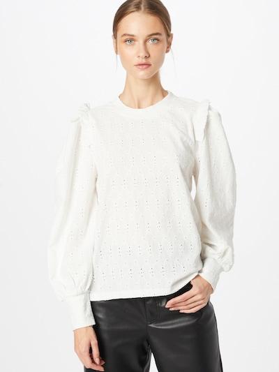 SISTERS POINT Bluse 'EINA' in weiß, Modelansicht