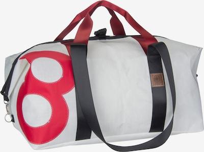 360 Grad Reisetasche 'Kutter XL' in rot / schwarz / weiß, Produktansicht