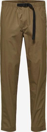 SELECTED Hose in braun / schwarz, Produktansicht