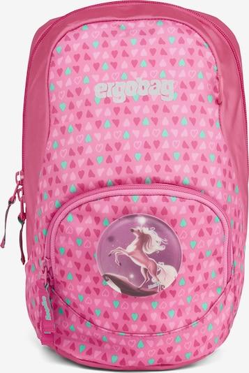 ergobag Rucksack 'Ease' in mischfarben / pink, Produktansicht