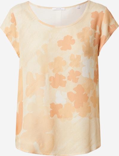 OPUS Shirt 'Flinka' in apricot / pfirsich / weiß, Produktansicht