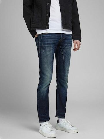JACK & JONES Slim Fit Jeans 'Glenn Kobe' in Blau