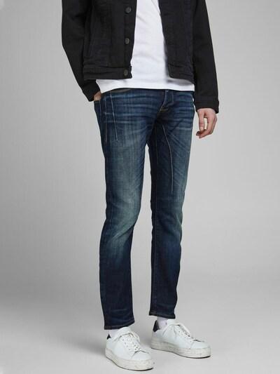 JACK & JONES Slim Fit Jeans 'Glenn Kobe' in blau, Modelansicht