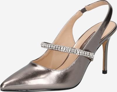 Dorothy Perkins Slingback pumps 'EMERALD' i silvergrå, Produktvy