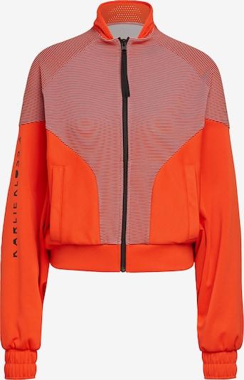 ADIDAS PERFORMANCE Bluza rozpinana sportowa 'Karlie Kloss' w kolorze ciemny niebieski / łososiowy / ciemnopomarańczowy / białym, Podgląd produktu