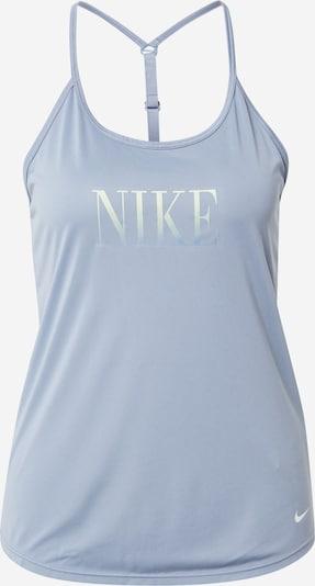 NIKE Sporttop in de kleur Pastelblauw / Wit, Productweergave