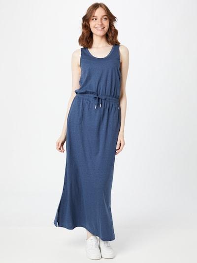s.Oliver Kleid in blau, Modelansicht