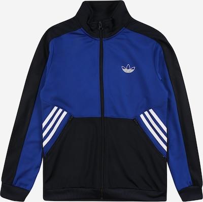 ADIDAS ORIGINALS Pletená bunda - noční modrá / královská modrá / bílá, Produkt